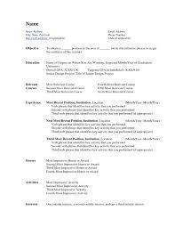 Free Resume Microsoft Word Standard Resume Template Microsoft Microsoft Word Resume Templates 16