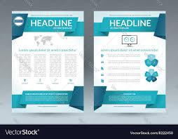 Free Flyer Layout Flyer Brochure Layout Template A4 Size
