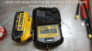 Dewalt Charger Yellow Light Dewalt Dcb105 Does Not Work The Charger Battery Just Red Light One Time It Lights Up