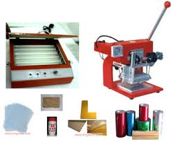 hot foil stamping machine business start up complete package