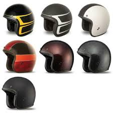Details About Fly Racing 38 Open Face 3 4 Motorcycle Retro Style Helmet Pick Size Color