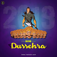 Happy Dussehra 2019 Creative Design Images And Psd Templates