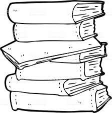 Dessin Anim Pile De Livres Cliparts Vectoriels Et Plus D Images