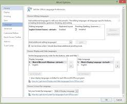 Office Word Format Customizing Language And Format In Microsoft Word Onsite