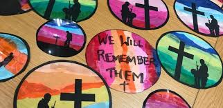 remembrance stained glass window