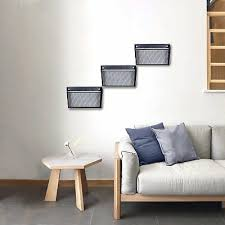 designa mesh wall mounted file holder