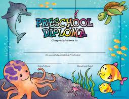 preschool sea creature diploma package of cool school studios preschool sea creature diploma package of 25