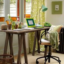 home office desk decorating ideas office furniture. Exellent Decorating Traditional Home Office Decor Ideas With Rustic Wooden Desk Feat From  Computer For Intended Decorating Furniture