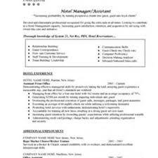 Hospitality Management Resume Objective Resume For Hotel Management Sales Management Lewesmr 21