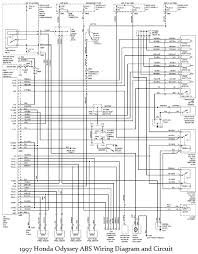 1997 honda odyssey electrical diagram