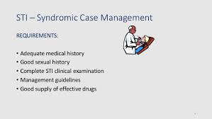 Syndromic Management Of Stis