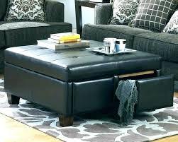 black round storage ottoman round black leather ottoman round storage ottoman coffee table black round storage