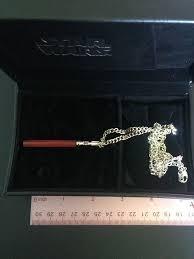 noble wealth darth vader jade lightsaber necklace