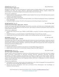 Senior Software Developer Resume Senior Software Engineer Resume
