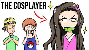 Her makeup is nude, with some pink blush on the cheeks and nose. The 9 Types Of Anime Fans Youtube
