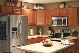 decorations on top of kitchen cabinets. Image Decorating Above Kitchen Cabinets Decorations On Top Of A