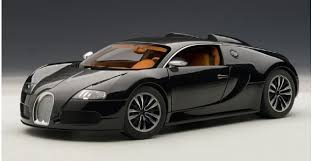 We have one ready for review today. Autoart 70961 Bugatti Eb 16 4 Veyron Sang Noir Black 1 18