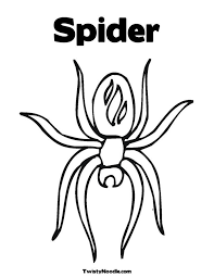 Small Picture Spider Coloring Sheets Coloring Home