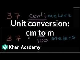 Centimeters To Decimeters Conversion Chart Converting Centimeters To Meters Cm To M Measurement