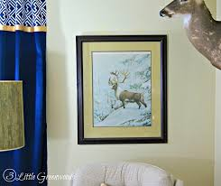 amazing find at thrifty thursday home office art by 3 little greenwoods thriftydecor art for home office