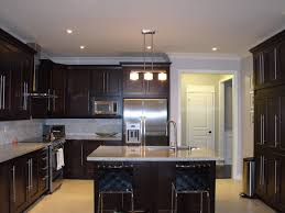 Dark Kitchen Kitchen Colors With Dark Wood Cabinets Outofhome