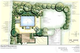 Small Picture the master plan landscape design Atlanta Landscaping Plans