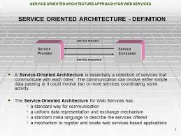 What Is Service Oriented Architecture Service Oriented Architecture Approach For Web Services A Survey