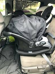 evenflo infant car seat base has a in the that allows to be installed with without