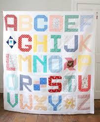 Best 25+ Alphabet quilt ideas on Pinterest   Baby quilt patterns ... & Spell It With Fabric Quilt Top Adamdwight.com