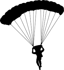 Image result for paratrooper parachuting
