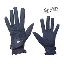 grippers kids synthetic leather gloves