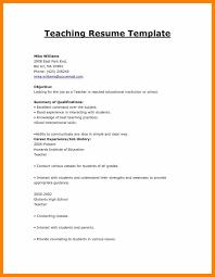 6 Cv Format For Fresher Teacher Prome So Banko