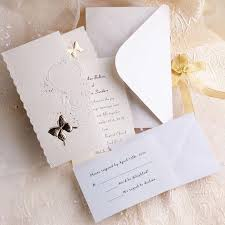 top 10 wedding colors ideas and wedding invitations for spring Discount Blank Wedding Invitations gold butterfly folded wedding invitation cheap blank wedding invitations