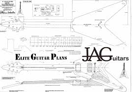luthiers plan to build flying v 58 korina p003