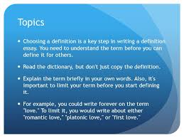 writing topics for an extended definition extended definition  what are some good extended definition essay topics 1457240 20 definition essay topics that go beyond the obvious 7823029