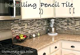 kitchen installation cost kitchen installing a pencil tile and cost breakdown how to install kitchen kitchen