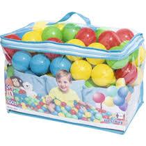 <b>Мячи пластмассовые</b> Bestway для <b>игр</b> 100 шт купить с доставкой ...