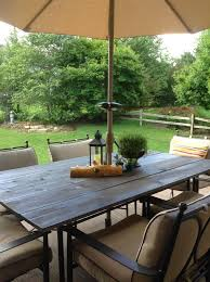 great glass patio table top replacement collected society diy patio table top tutorial after glass table