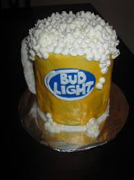 Bud Light Birthday Beer Bud Light Cake For Robs Birthday Bud Light Cake