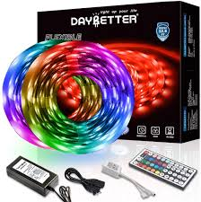 Arrow Of Light Striping New Program Daybetter Led Strip Lights 32 8ft Waterproof Flexible Tape Lights Color Changing 5050 Rgb 300 Leds Light Strips Kit With 44 Keys Ir Remote