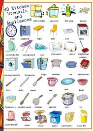 Kitchen Utensils Names And Pictures In Hindi Room Image And