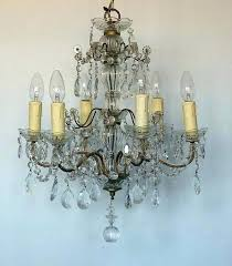 small vintage chandelier small french chandelier pair of early french chandeliers the vintage chandelier company the