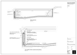 Pool Section \u0026 Typical Infinity Edge Detail (142.55 KB)  Construction Details Pinterest