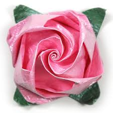 Rose Flower With Paper How To Make A Jewelry Origami Rose Paper Flower Page 1