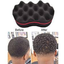 sponge brush. image is loading double-sided-twist-barber-hair-sponge-foam-brush- sponge brush p