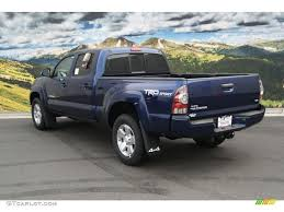 2014 Blue Ribbon Metallic Toyota Tacoma V6 TRD Sport Double Cab ...