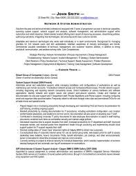 System Administrator Resume Template Click Here To Download This