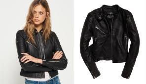 the goes with everything leather jacket