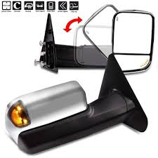 Ram 2500 Mirror Lights Scitoo Compatible Fit For Dodge Towing Mirrors Chrome Rear
