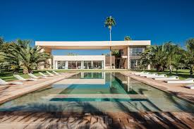This contemporary African villa played a prominent role as the lair of  Franz Oberhauser  played by Christoph Waltz  in the new James Bond film